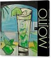 Mojito Poster Canvas Print