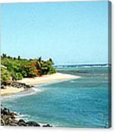 Molokai Shore Canvas Print