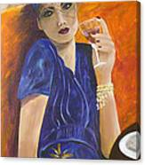 Mom Ami Canvas Print