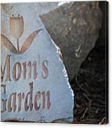 Mom's Garden Canvas Print