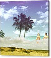 Mom's Tropical Dreams Canvas Print