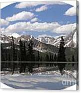 Monarch Pass Lake Canvas Print