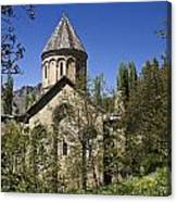 Monastery Of Ishan Canvas Print