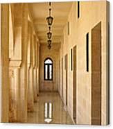 Monastery Passageway Canvas Print