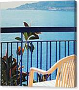 Mondello Bay Sicily Canvas Print