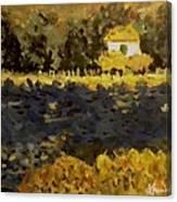Monet House Canvas Print