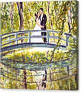 Monet Wedding Canvas Print