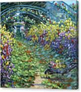 Monet's Autumn Canvas Print