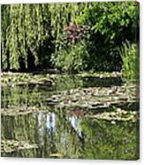 Monets Lilypond - Giverny Canvas Print