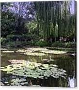 Monet's Water Garden Canvas Print