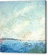 Monhegan From Pemaquid Canvas Print