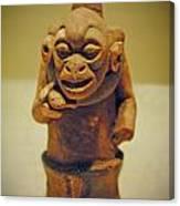 Monkey Stone Canvas Print