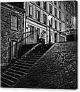 Montmartre After Dark Canvas Print