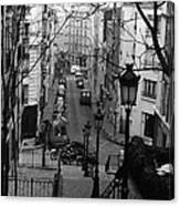 Monmatre Paris France Canvas Print