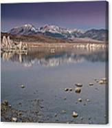 Mono Lake Panorama Canvas Print
