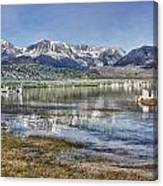 Mono Lake Sierra Canvas Print