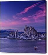 Mono Lake's Fiery Sky Canvas Print