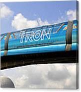 Mono Tron Canvas Print