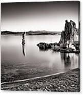 Monochromatic Mono Lake Sunrise Canvas Print