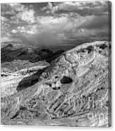 Monochrome Landscape Project 2 Canvas Print