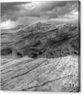 Monochrome Landscape Project 3 Canvas Print