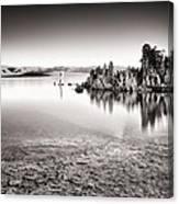 Monochrome Mono Lake Sunrise Canvas Print