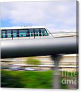 Monorail Carriage Canvas Print