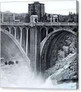 Monroe St Bridge 2 - Spokane Washington Canvas Print
