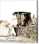Monster Tractor Canvas Print