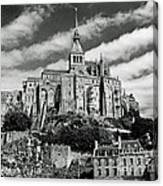 Mont St. Michel Canvas Print