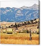 Montana Farm9404 Canvas Print