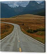 Montana Highway Canvas Print