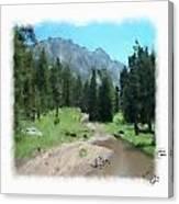 Montana Mudhole Canvas Print