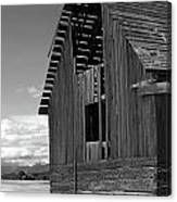 Montana Weathered Barn Canvas Print
