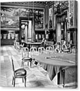 Monte Carlo - Gambling Hall - C 1900 Canvas Print