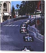Monte Carlo Casino Corner Canvas Print