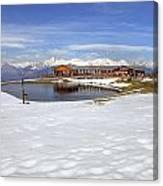 Monte Tamaro - Alpe Foppa - Ticino - Switzerland Canvas Print