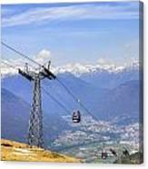 Monte Tamaro - Switzerland Canvas Print
