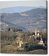 Montegufoni Castle Canvas Print