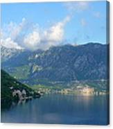Montenegro's Bay Of Kotor Canvas Print