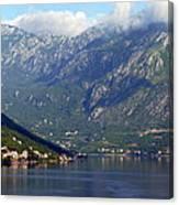 Montenegro's Black Mountains Canvas Print