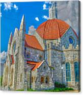 Montgomery Baptist Church Hdr Canvas Print