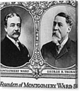 Montgomery Ward Founders Canvas Print