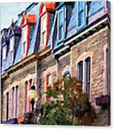 Montreal Architecture Canvas Print