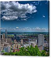 Montreal View Canvas Print