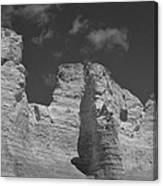 Monument Rocks 2 Canvas Print
