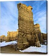 Monument Rocks Canvas Print