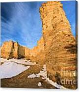 Monument Rocks In Kansas Canvas Print