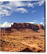 Monument Valley Arizona  Canvas Print