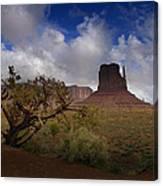Monument Valley Vista Canvas Print